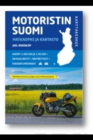Karttakeskus Motoristin Suomi - matkaopas ja kartasto