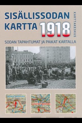 Sisällissodan 1918 Kartta