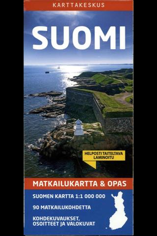 Matkailukartta & Opas Suomi kartta