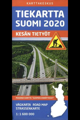 Tiekartta Suomi kartta