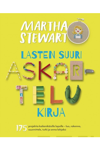 Readme.fi Martha Stewart: Lasten suuri askartelukirja