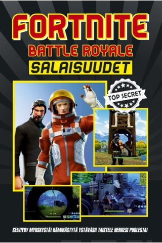 Readme.fi Jason R. Rich: Fortnite Battle Royal - salaisuudet