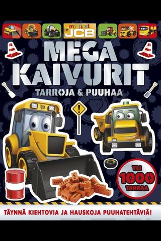 Readme.fi Megakaivurit - tarroja & puuhaa