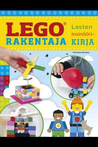 Readme.fi Courtney Sanchez: Lego-rakentaja - lasten insinöörikirja