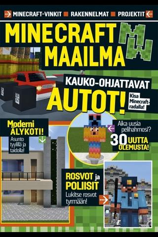Readme.fi Minecraft maailma - vinkit, rakennelmat, projektit