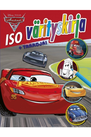 Disney-Pixar Autot 3: Iso värityskirja