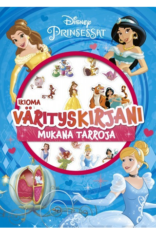 Disney Prinsessat Ikioma värityskirjani