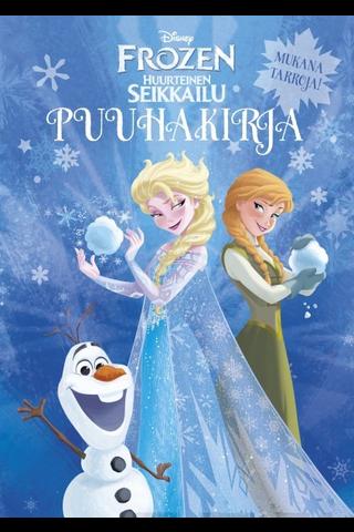 Disney Frozen Huurteinen seikkailu puuhakirja