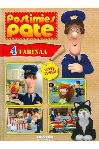 Buster: Postimies Pate - 4 tarinaa