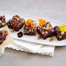 Suklaa-pähkinäbrowniet