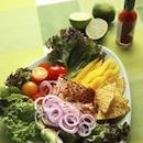 Meksikolainen kanasalaatti