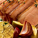 Porsaan uunifilee uunisipulit ja hunajainen kastike