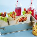 Nakki-tortillakääröt ja maissisalsa