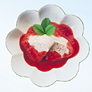 Vanilja-mansikkahyytelö