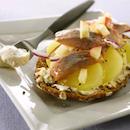 Silli-perunaleipä