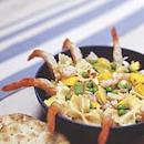 Katkarapu-pastasalaatti