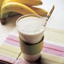 Kuituinen banaanijuoma