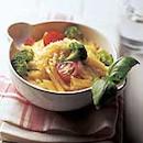Spagettia ja parsakaalia