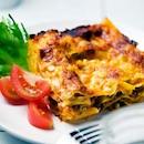 Juustoinen lasagne