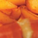 Makkaravati ja rapeita lohkoperunoita