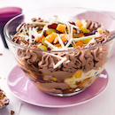 Suklainen hedelmä-trifle