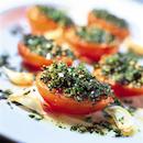 Yrttitäytteiset tomaatit
