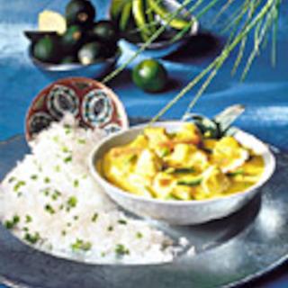 Intialainen juustoinen broileripata