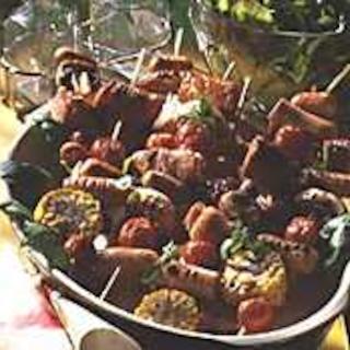 Makkara-kasvisvartaat