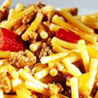 Jauheliha-spagettipata