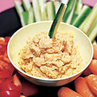 Hummus ja naposteluvihannekset