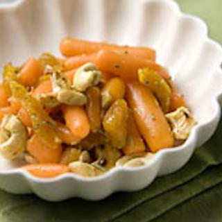 Porkkana-cashewpähkinälisäke