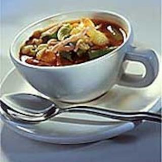 Kiireisen kokin minestrone