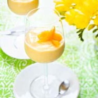 Mango-limemousse
