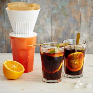 Appelsiinikahvi kylmäuutetusta kahvista