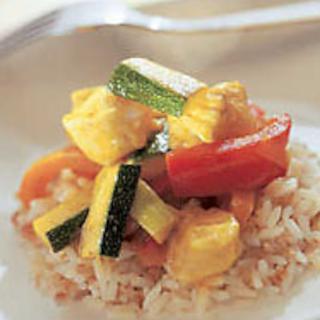 Currylla maustettu kalavokki