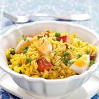 Intialainen lohikedgeree
