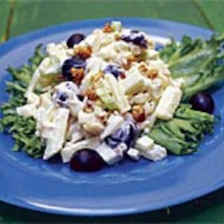 Myslinen waldorfinsalaatti