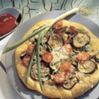 Kasvissyöjän pizza