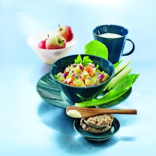 Kinkku-kasvispyttipannu