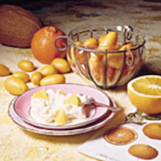 Appelsiini-kookosvaahto