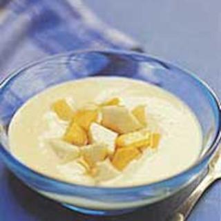 Vaniljavanukas ja hunajaiset hedelmät