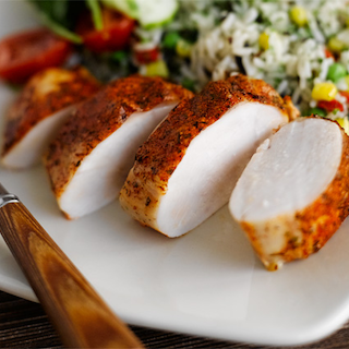 Kananpoikaa ja pilahviriisiä