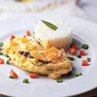 Sinihomejuusto-broileripihvit