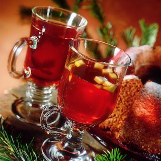Jouluinen tee punssilla