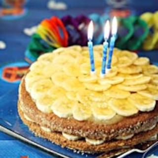 Banaanisuklaakakku