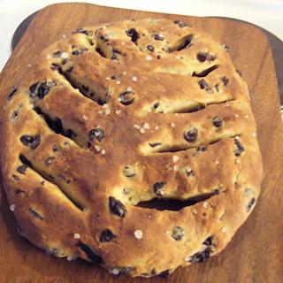 Ranskalainen Fougasse-leipä